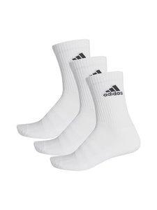 adidas Performance - Cushioned Crew -sukat 3-pack - WHITE/WHIT WHITE/WHITE/BLACK | Stockmann