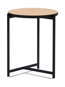 Interface - Pilleri-pöytä 40 cm - TAMMIVIILU/MUSTA   Stockmann