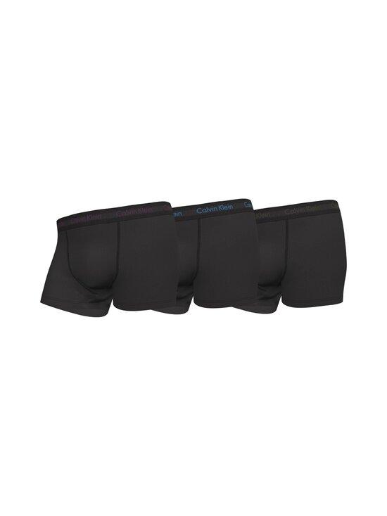 Calvin Klein Underwear - Alushousut 3 kpl - WIC B- PURPLE/ ACTIVE BLUE/ ARMY LOGO   Stockmann - photo 1