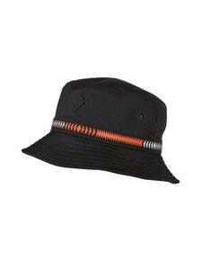 MARCELO BURLON - Cross Tape Bucket -hattu - 1025 BLACK RED | Stockmann