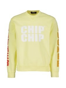 Dsquared - Sweatshirt Icon -collegepaita - 169 LIGHT YELLOW | Stockmann
