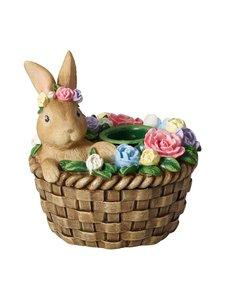 Villeroy & Boch - Bunny In Basket -kynttilänjalka - MULTICOLOR   Stockmann