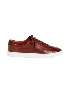 Ted Baker London - Udamo Leather Sneaker -nahkasneakerit - 23 LT-BROWN | Stockmann