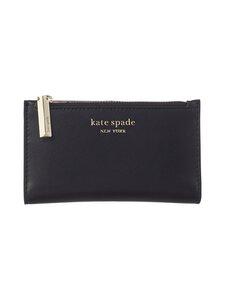 kate spade new york - Spencer Small Slim Bifold Wallet -nahkalompakko - BLACK | Stockmann