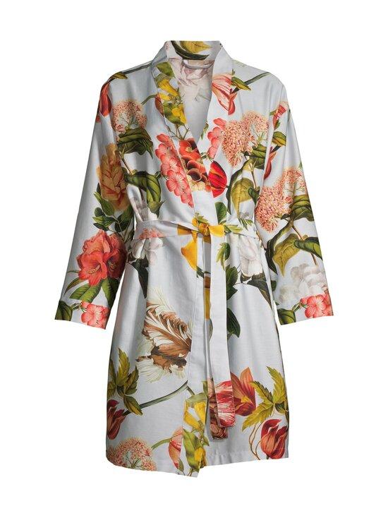 Villa Stockmann - Ruby Kimono -aamutakki - LIGHT GREY WITH FLOWERS   Stockmann - photo 1