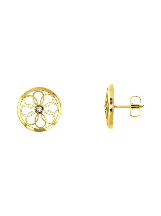 Tommy Hilfiger - Flower Stud -korvakorut - KULTA | Stockmann - photo 1