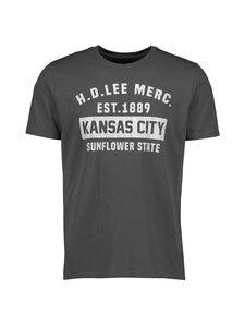 Lee - Tee Short Sleeve Kansas City -paita - ON WASHED BLACK | Stockmann