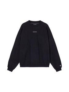 Calvin Klein Jeans - Micro Branding Crew Neck -collegepaita - BEH CK BLACK | Stockmann