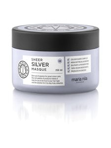 Maria Nila - Care & Style Sheer Silver Masque -hiusnaamio 250 ml - null | Stockmann