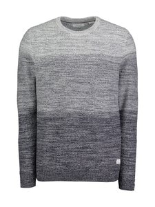 Jack & Jones - JjeGraham Knit Crew Neck -puuvillaneule - NAVY BLAZER | Stockmann