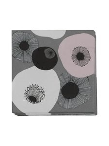 Pentik - Pastelli-servetti 33 x 33 cm - TUMMANHARMAA | Stockmann