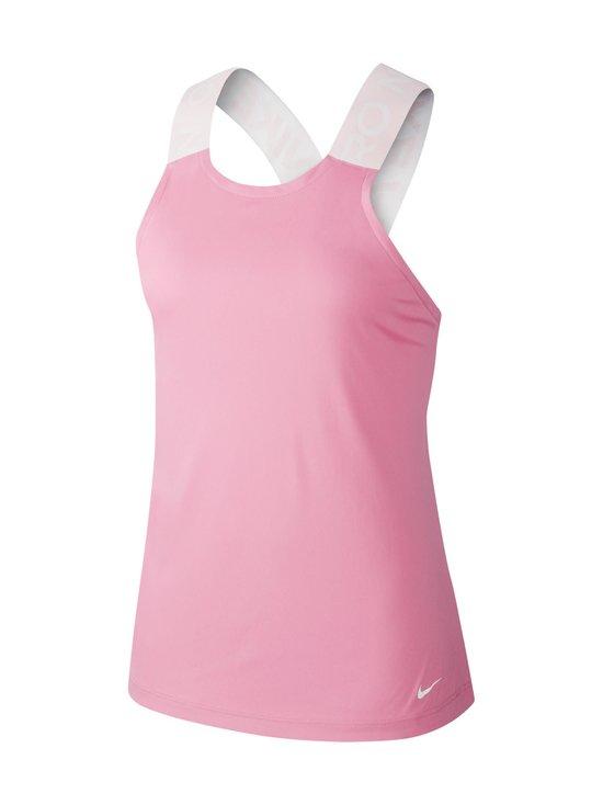Nike - W Pro -treenitoppi - MAGIC FLAMINGO/BARELY ROSE/WHITE | Stockmann - photo 1