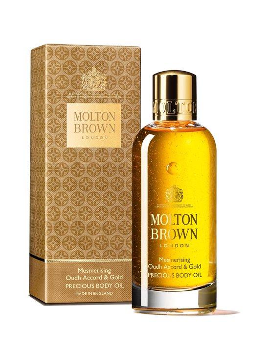 Molton Brown - Mesmerising Oudh Accord & Gold Precious Body Oil -vartaloöljy 100 ml - NO COLOR | Stockmann - photo 1