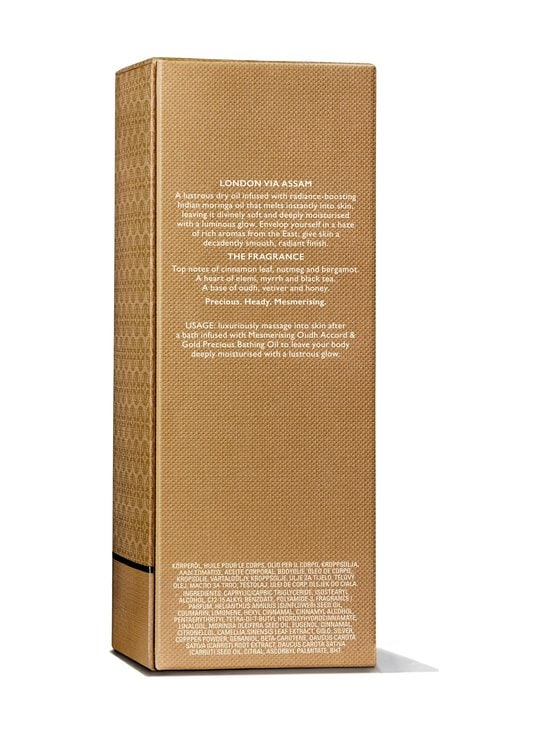 Molton Brown - Mesmerising Oudh Accord & Gold Precious Body Oil -vartaloöljy 100 ml - NO COLOR | Stockmann - photo 6