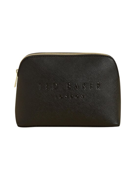Ted Baker London - LIEAAH Crosshatch Debossed Make Up Bag -meikkilaukku - 00 BLACK   Stockmann - photo 1