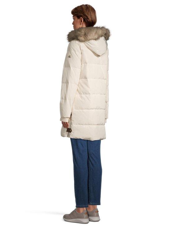 Lauren Ralph Lauren - Down Coat With Hood -untuvatakki - 2XQJ CREAM   Stockmann - photo 3