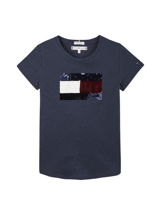 Flag Flip Sequins Tee -paita