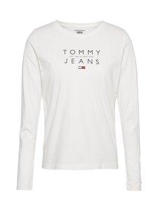 Tommy Jeans - Tjw Essentials Logo Longsleeve -paita - YBR WHITE   Stockmann