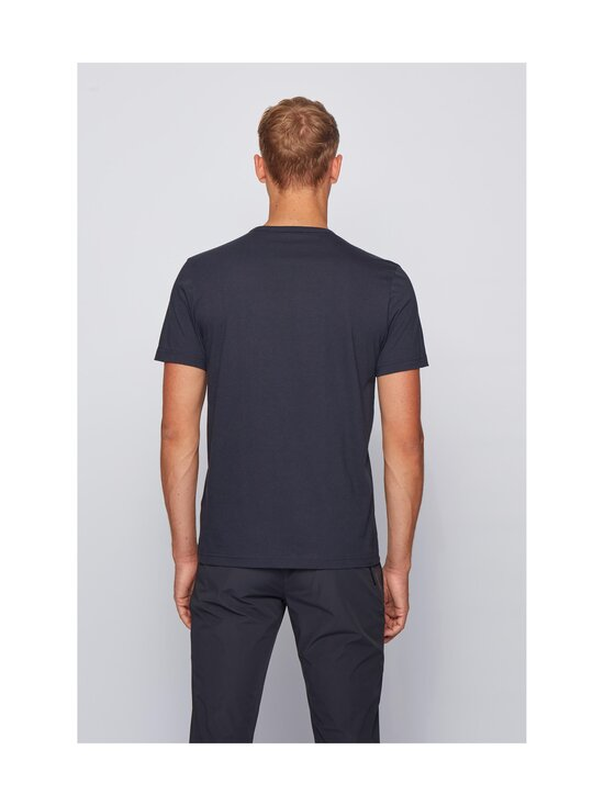 BOSS - Tee Curved -paita - 403 DARK BLUE | Stockmann - photo 3