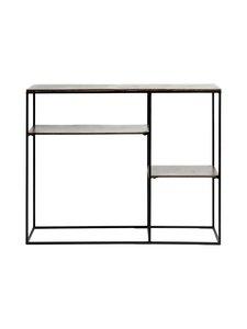 Muubs - Hitch-konsolipöytä 110 x 90 x 30 cm - BLACK/ANTIQUE BRASS | Stockmann