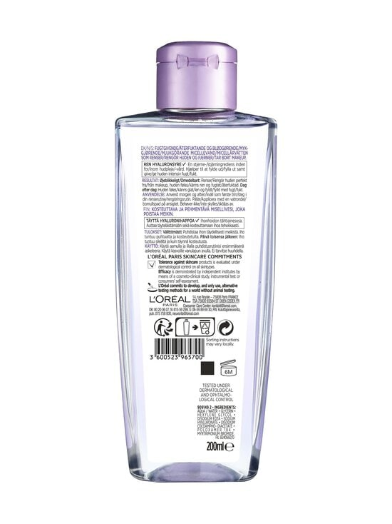 L'Oréal Paris - Revitalift Filler Micellar Water -misellivesi 200 ml - NOCOL | Stockmann - photo 2