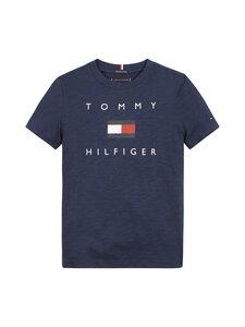 Tommy Hilfiger - Logo Tee -paita - C87 TWILIGHT NAVY | Stockmann