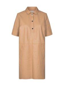 MOS MOSH - Esther Leather Dress -nahkamekko - NEW SAND   Stockmann