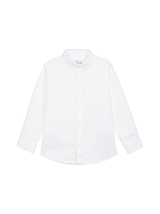 Mayoral - Basic LS -paita - 35 WHITE | Stockmann - photo 1