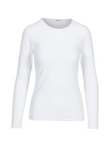 Filippa K - Cotton Stretch Long Sleeve -paita - WHITE | Stockmann