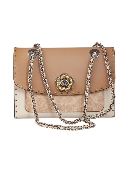 Coach - Parker In Signature Canvas With Rivets -nahkalaukku - LH/SAND TAUPE MULTI | Stockmann - photo 1