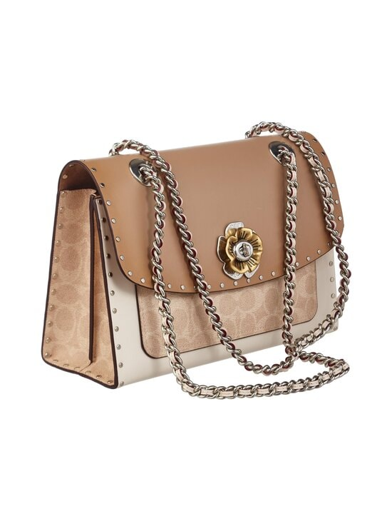 Coach - Parker In Signature Canvas With Rivets -nahkalaukku - LH/SAND TAUPE MULTI | Stockmann - photo 2