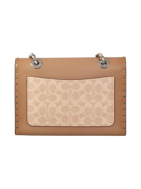 Coach - Parker In Signature Canvas With Rivets -nahkalaukku - LH/SAND TAUPE MULTI | Stockmann - photo 3