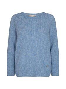 MOS MOSH - Tammy knit o-neck -neule - BELAIR BLUE   Stockmann