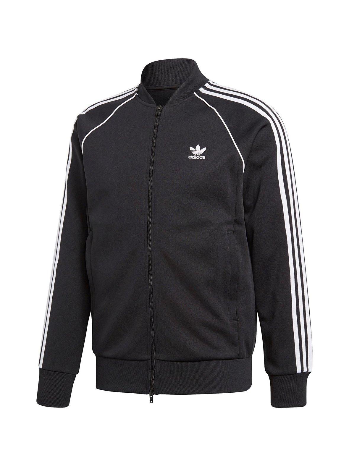 Musta Adidas Originals SST TT -takki  d52ec61ac8