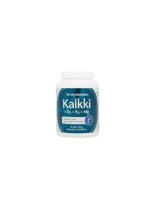 Terveyskaista - Kalkki+D3+K2+Mg -ravintolisä 90 tabl 122 g - null | Stockmann