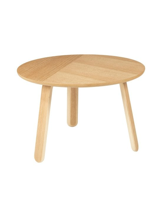 Gubi - Paper Coffee Table -sohvapöytä ⌀ 60 cm - OAK SEMI MATT LACQUERED | Stockmann - photo 1