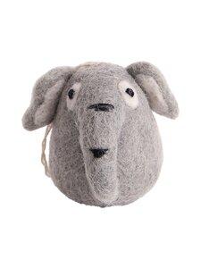 Én Gry & Sif - Elefantti-joulukoriste Small - GREY | Stockmann