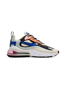 Nike - Air Max 270 React -sneakerit - FOSSIL/HYPER BLUE-BLACK-PISTACHIO FROST   Stockmann
