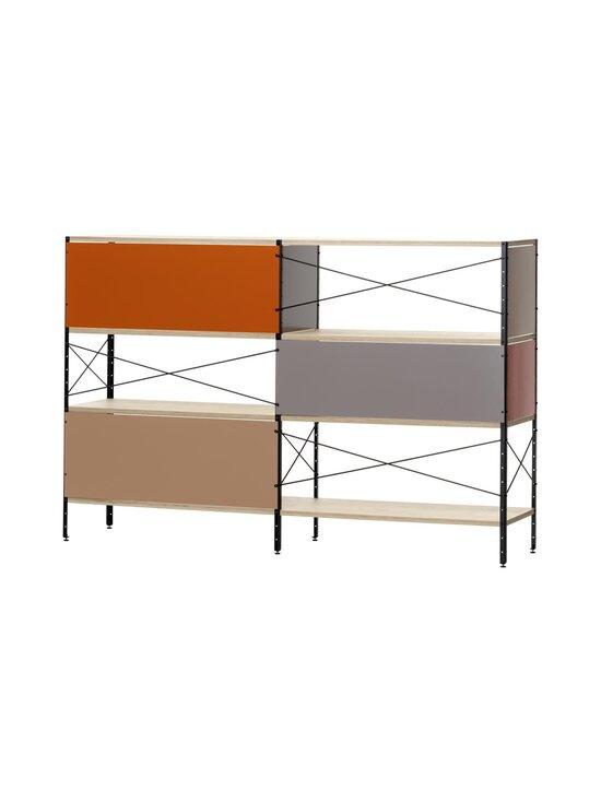 Vitra - Eames Storage Unit ESU Shelf 3 HU -hylly 179,5 x 42 x 117,5 cm - ORANGE, RED | Stockmann - photo 3