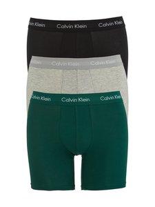 Calvin Klein Underwear - Bokserit 3-pack - AGS ALLIGATOR/ GREY HEATHER/ BLACK | Stockmann