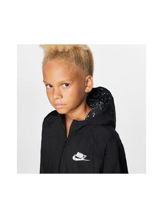 Nike - Sportswear Older Kids' Fleece Parka -takki - BLACK/BLACK/ATMOSPHERE GREY   Stockmann - photo 5