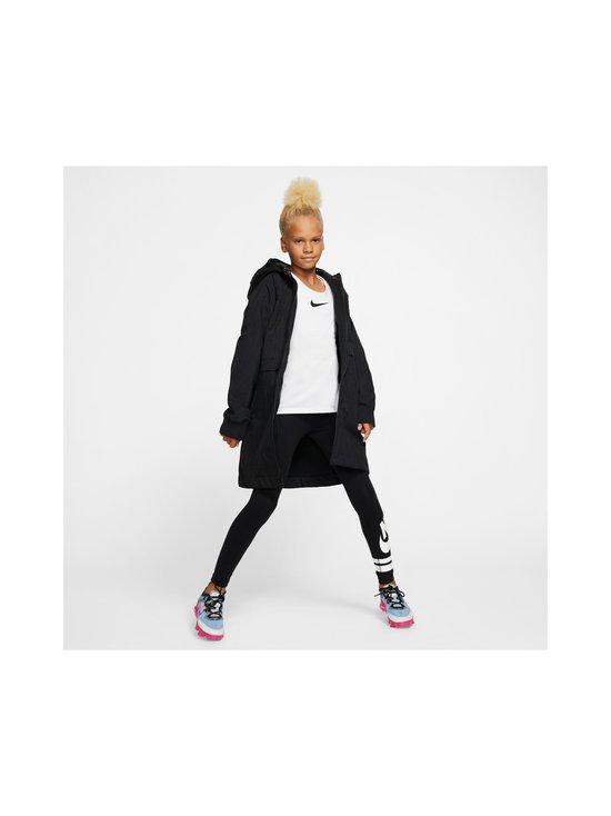 Nike - Sportswear Older Kids' Fleece Parka -takki - BLACK/BLACK/ATMOSPHERE GREY   Stockmann - photo 7