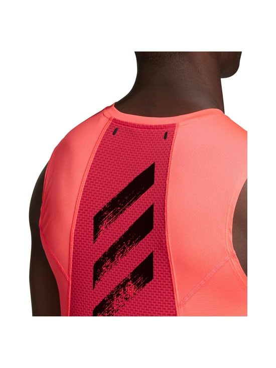 adidas Performance - Heat.Rdy Sleeveless Tee -treenipaita - SIGNAL PINK | Stockmann - photo 6