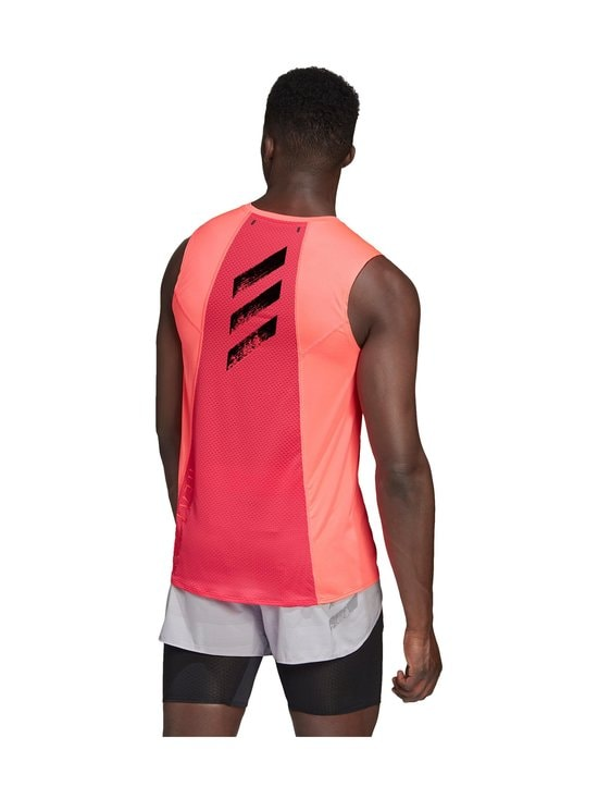 adidas Performance - Heat.Rdy Sleeveless Tee -treenipaita - SIGNAL PINK | Stockmann - photo 7