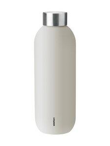 Stelton - Keep Cool -juomapullo 0,6 l - SAND/STEEL   Stockmann