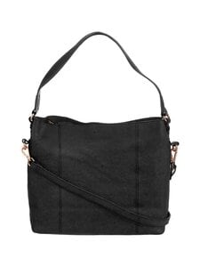 A+more - Sanie Shoulder Bag -nahkalaukku - BLACK | Stockmann
