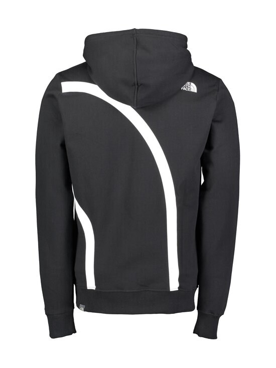 The North Face - M Oversize Logo Hoodie -huppari - KY41 TNF BLACK/TNF WHITE | Stockmann - photo 2