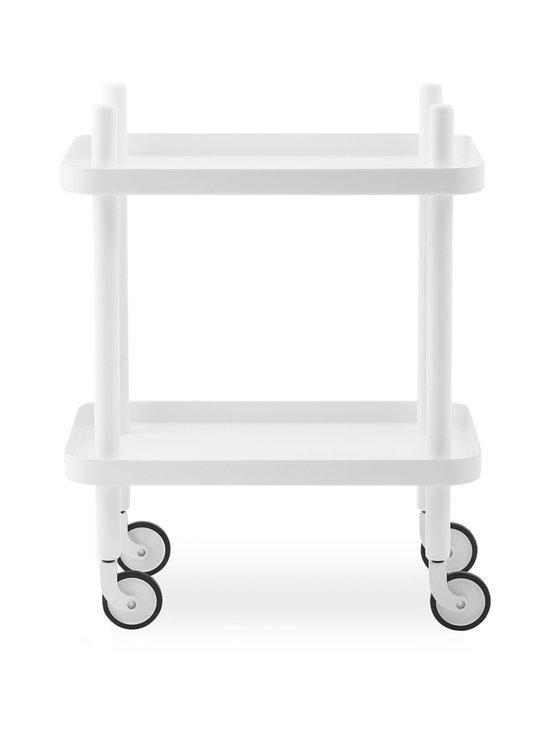 Normann Copenhagen - Block-pöytä 64 x 50 x 35 cm - WHITE/WHITE | Stockmann - photo 1