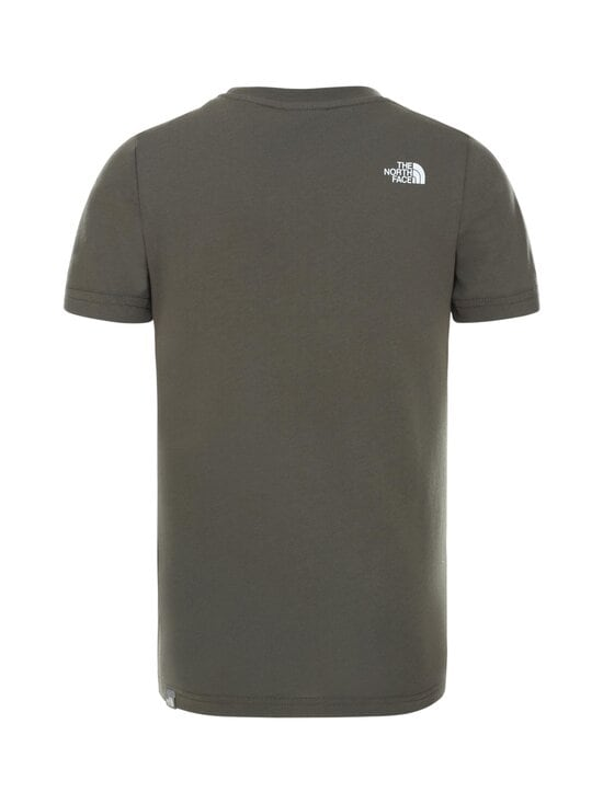 The North Face - Y Box SS Tee -paita - KR51 NEW TAUPE GREEN/TNF WHITE | Stockmann - photo 2