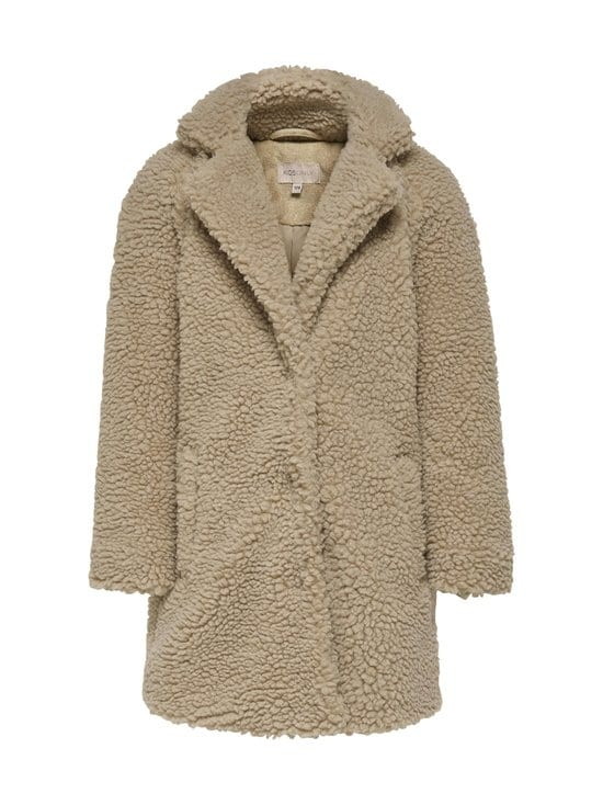 KIDS ONLY - KonneWaurelia Sherpa Coat -takki - CUBAN SAND | Stockmann - photo 1